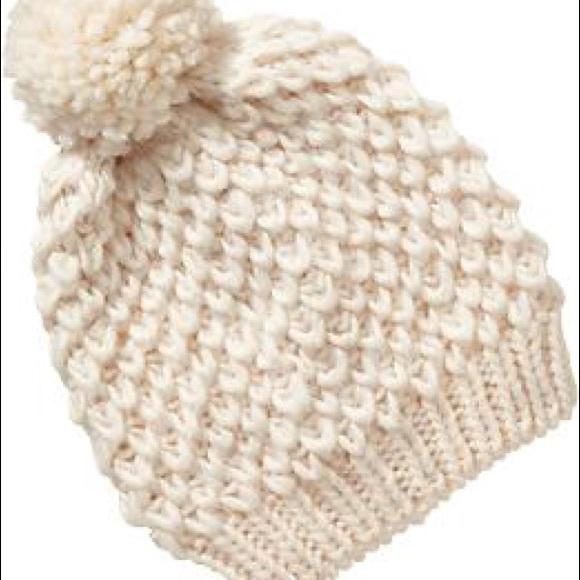 Sweater Knit Pom-Pom Beanie 76e7307d9560